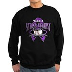 Strike Pancreatic Cancer Sweatshirt (dark)