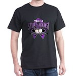 Strike Pancreatic Cancer Dark T-Shirt
