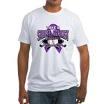 Strike Pancreatic Cancer Fitted T-Shirt