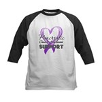Pancreatic Cancer Kids Baseball Jersey