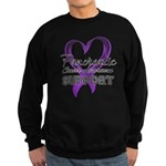 Pancreatic Cancer Sweatshirt (dark)