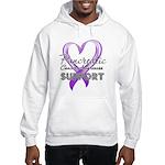Pancreatic Cancer Hooded Sweatshirt