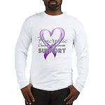 Pancreatic Cancer Long Sleeve T-Shirt