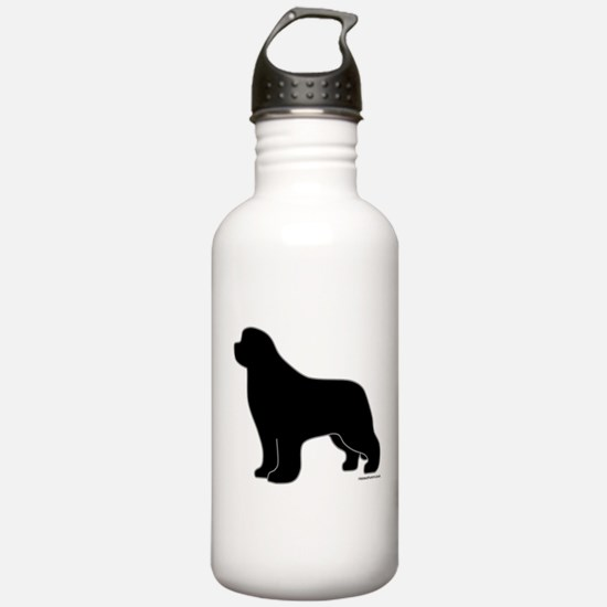 Newfoundland Silhouette Water Bottle