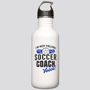 Soccer Coach Voice Stainless Water Bottle 1.0L