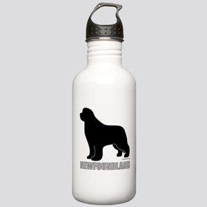 Newfoundland Silhouette Stainless Water Bottle 1.0