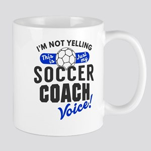 Soccer Coach Voice Mugs