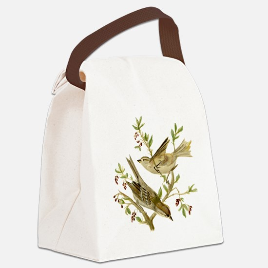 Cool Detailed Canvas Lunch Bag