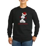 Dog Christmas Long Sleeve Dark T-Shirt