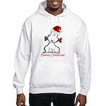 Dog Christmas Hooded Sweatshirt