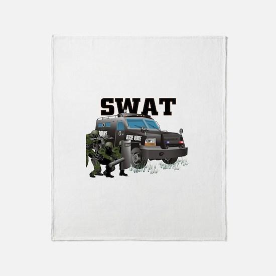 Tactical Vehicle Throw Blanket