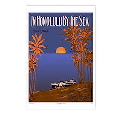 'In Honolulu By The Sea' Postcards (Package of 8)