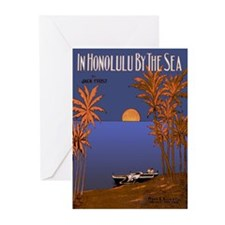'In Honolulu By The Sea' Greeting Cards (Package o
