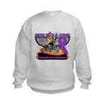 Ride Cure Pancreatic Cancer Kids Sweatshirt