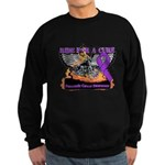 Ride Cure Pancreatic Cancer Sweatshirt (dark)