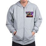 Ride Cure Pancreatic Cancer Zip Hoodie