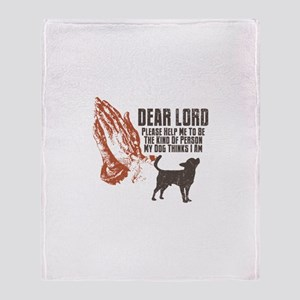 Chihuahua Smoothcoated Throw Blanket