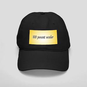 """100% Secular"" Black Cap"