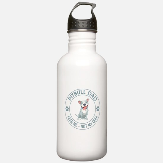 PITBULL DAD Water Bottle