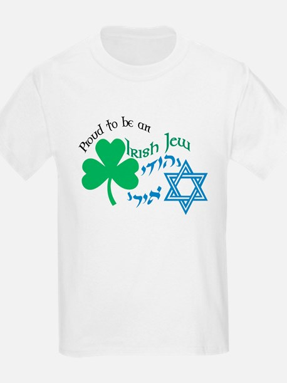 Proud Irish Jew Kids T-Shirt