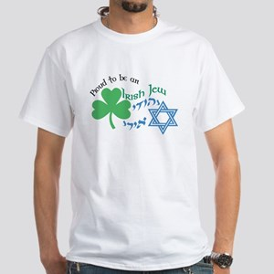 Proud Irish Jew White T-Shirt