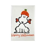 Dog Halloween Rectangle Magnet (100 pack)