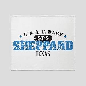 Sheppard Air Force Base Throw Blanket