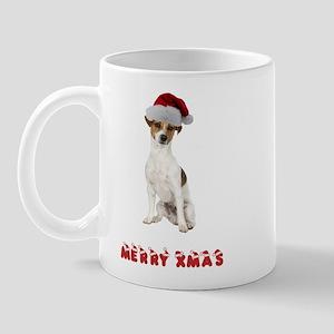 Xmas Jack Russell Terrier Mug