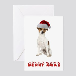 Xmas Jack Russell Terrier Greeting Cards (Pk of 20