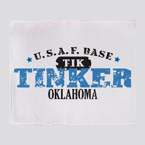 Tinker Air Force Base Throw Blanket