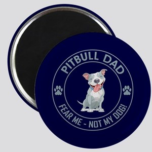 PITBULL DAD Magnet