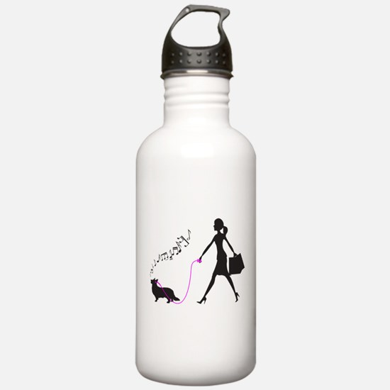 Cardigan Welsh Corgi Sports Water Bottle