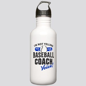 Baseball Coach Voice Stainless Water Bottle 1.0L