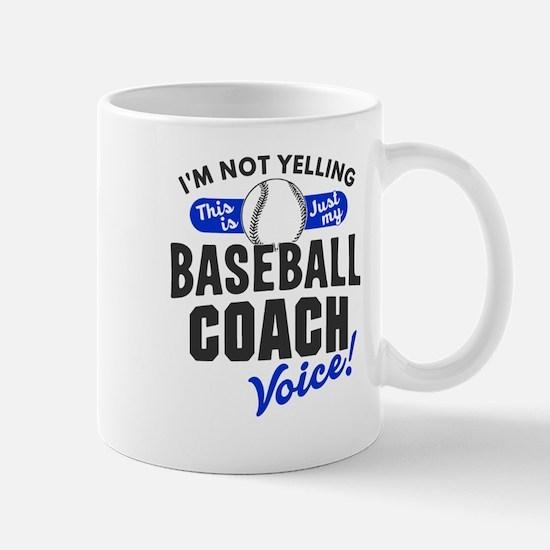 Baseball Coach Voice Mugs