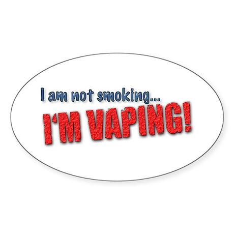 I'm not smoking... I'M VAPING