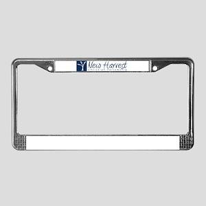 New Harvest License Plate Frame