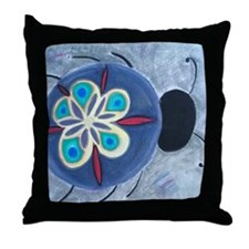 Spacebug Throw Pillow