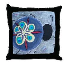 Spacebug Throw Pillow