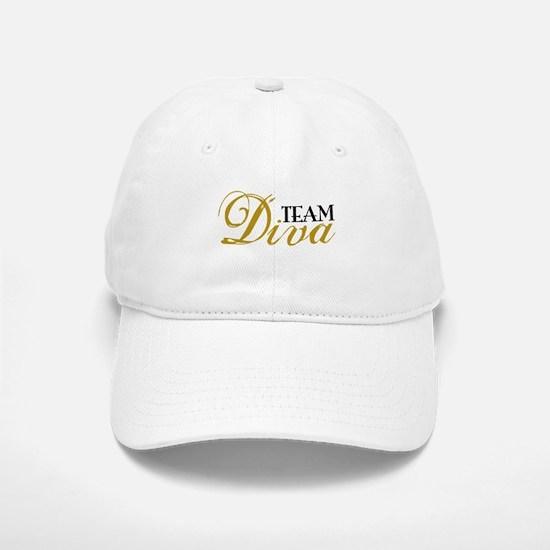 Team Diva Baseball Baseball Cap