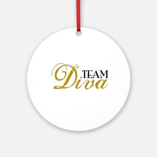 Team Diva Ornament (Round)