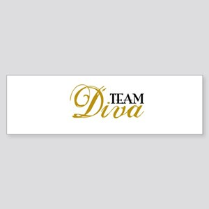 Team Diva Sticker (Bumper)