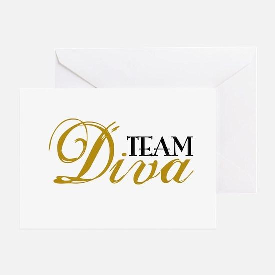Team Diva Greeting Card