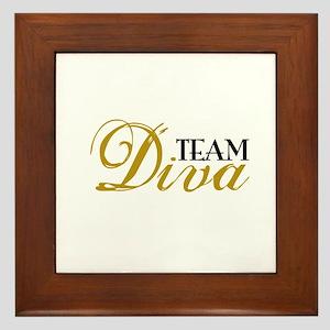 Team Diva Framed Tile
