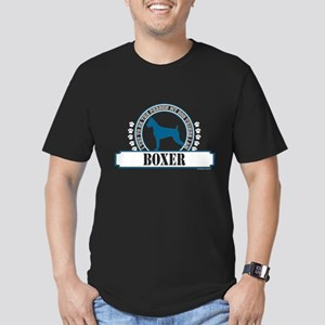 Boxer Men's Fitted T-Shirt (dark)