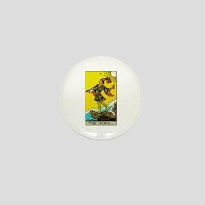 The Fool Tarot Card Mini Button