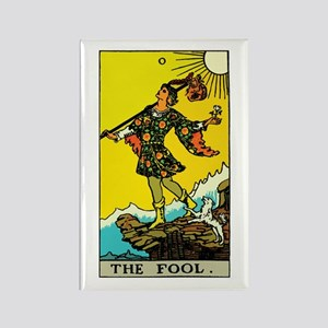 The Fool Tarot Card Rectangle Magnet
