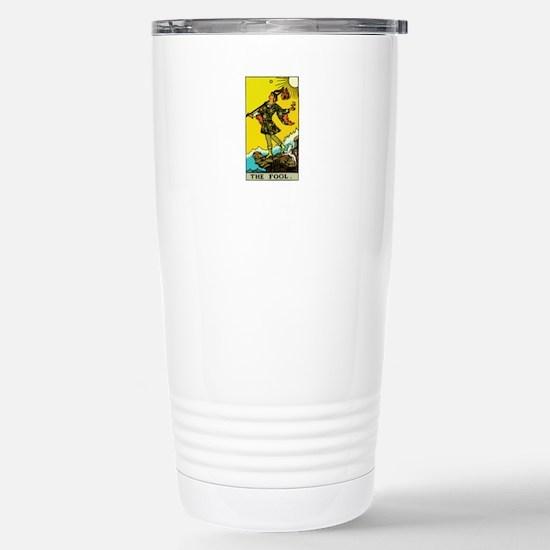 The Fool Tarot Card Stainless Steel Travel Mug