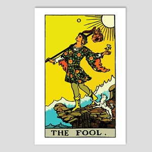 The Fool Tarot Card Postcards (Package of 8)