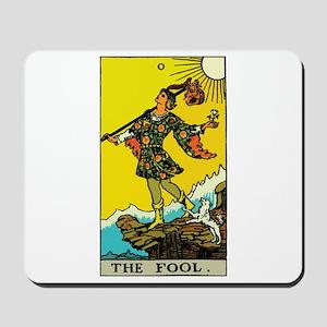 The Fool Tarot Card Mousepad