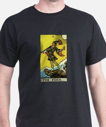 The Fool Tarot Card T-Shirt